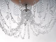 Murano glass chandelier CASCADE - Veronese