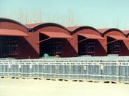 Bituminous tile LASTRE ONDULINE - Modello ISOLA - ONDULINE ITALIA