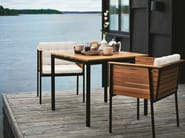 Teak low lounge chair - Poltroncina da giardino in teak