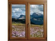 PVC top-hung window PVC window - GBA PLASTIK