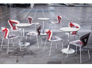 Technopolymer chair BIG BANG - GABER