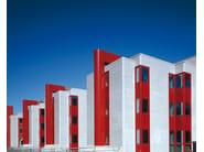 Fiber cement Continuous facade system PIZ - PIZ