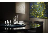 Round crystal table YOL - Gallotti&Radice