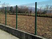 Electrically welded mesh Fence EASY - GRIDIRON GRIGLIATI