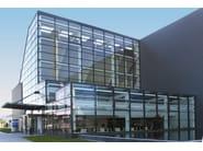 Continuous facade system WICTEC 50 HI - WICONA