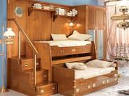 Wooden bedroom set 247 RECLINABILE | Bunk bed - Caroti