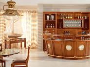 Solid wood bar cabinet BOLINA | Solid wood bar cabinet - Caroti