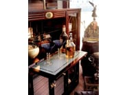 Wood and glass bar cabinet 712 | PORT BAR - Caroti