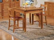 Square wooden dining table 1004 | Extending table - Caroti
