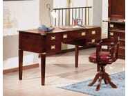 Wooden secretary desk REGENT | Secretary desk - Caroti