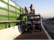 Anti-noise road barrier BARRIERE FONOISOLANTI STRADALI - Sitav Costruzioni Generali