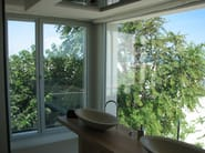 Aluminium casement window NC 75 STH - METRA