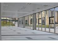 Curtain walls POLIEDRA-SKY 60 CV - METRA