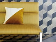 Solid-color cotton upholstery fabric