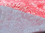 Damask cotton upholstery fabric KOMODO - LELIEVRE
