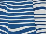 Striped reversible cotton fabric