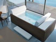Above-ground hot tub SUNDECK | Hot tub - DURAVIT