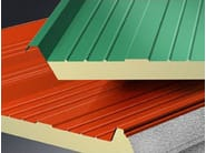 Insulated metal panel for roof ISOROOF 3G - Isometal