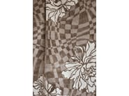 Viscose fabric with floral pattern INTRIGUE - LELIEVRE