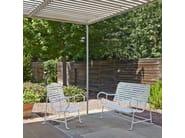 Garden armchair with armrests GARDENIAS | Garden armchair - BD Barcelona Design