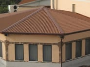 Insulated metal panel for roof SUPERCOPPO - Isometal