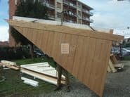 Prefabricated structural element for roof Structural element for roof - Grandi Legnami