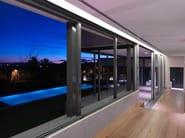 Aluminium thermal break window NC-S 120 STH Linea Slim - METRA
