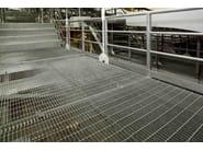 Electro-welded steel grating system POTISSIMUM® INDUSTRIE - NUOVA DEFIM