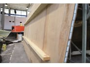 Plywood thermal insulation panel Laricross® - BELLOTTI