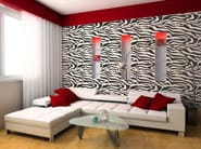 Water-based decorative painting finish with faux fabric effect ZEBRA - VALPAINT