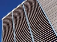 Sunscreening system for facade - Facciata ventilata - Sistema frangisole per facciata