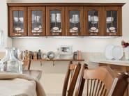 Walnut kitchen with handles VERONICA | Walnut kitchen - Cucine Lube