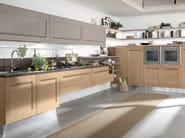 Wooden kitchen with handles GALLERY | Kitchen with handles - Cucine Lube
