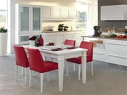 Kitchen with island with integrated handles GALLERY | Kitchen with island - Cucine Lube