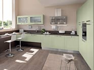 Lacquered ash kitchen with handles GALLERY | Ash kitchen - Cucine Lube