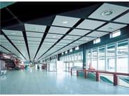 Metal ceiling tiles ALFA system - PROMETAL