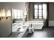Corian® bathroom stool WARP | Bathroom stool - Rexa Design