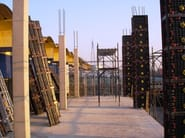Formwork and formwork system for concrete GEOTUB PANEL - GEOPLAST