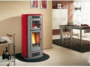 Pellet stove for air heating P960 F | Pellet stove - Piazzetta
