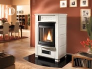 Pellet Stove for air heating