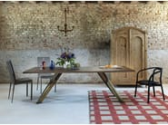 Rectangular table GUSTAVE | Oak table - Miniforms