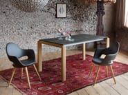 Upholstered wooden chair SOFT-L - DOMITALIA