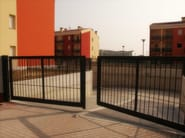 Steel gate Gate - GRIGLIATI BALDASSAR
