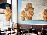 Wooden pendant lamp STICK | Pendant lamp - Fabbian