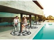 Round outdoor rug with Optical Pattern MARQUIS | Rug - VONDOM