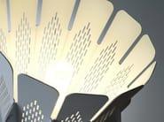 Design fluorescent metal pendant lamp