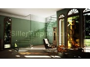Self supporting glass Open staircase with lateral stringers GLASS STAIR SWITZERLAND | Glass Open staircase - Siller Treppen