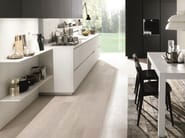 Wooden fitted kitchen KUBIC 2 - Euromobil