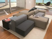 Sectional sofa with removable cover BLO US - Désirée