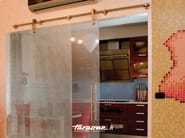 Glass sliding door VETRODIVIDE | Door - FARAONE